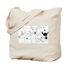 All Dairy Breeds Tote Bag