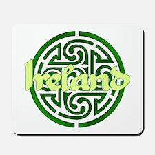 Ireland with Celtic Circle Mousepad