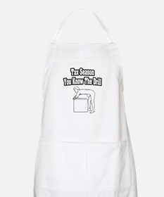 """Tax Season You Know The Drill"" BBQ Apron"