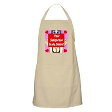 Your Satisfaction Is My Desir BBQ Apron