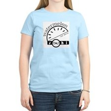 Wasu Movie In A Women's Light T-Shirt