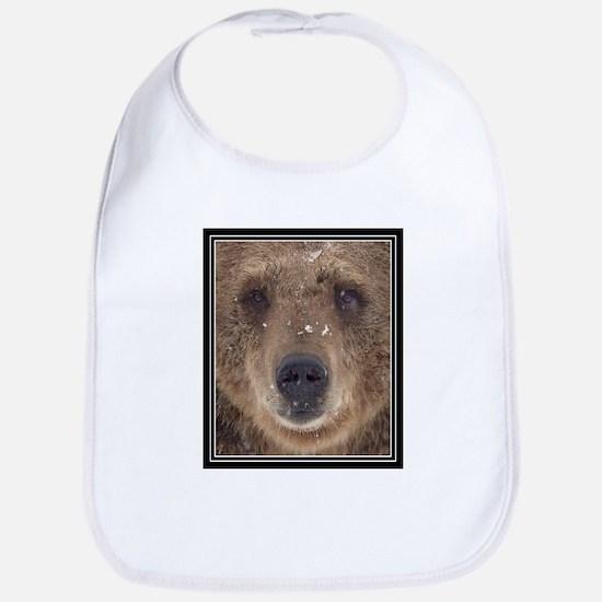 Bear Face Bib