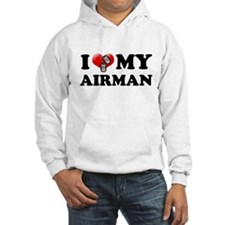 I (heart) my Airman Hoodie