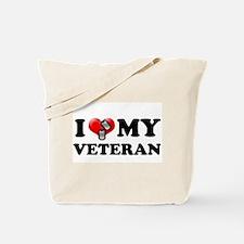 I (heart) my Veteran Tote Bag