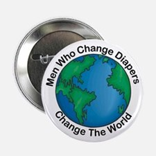 Men Who Change Diapers Button