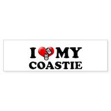 I (heart) my Coastie Bumper Bumper Sticker