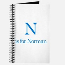 N is for Norman Journal