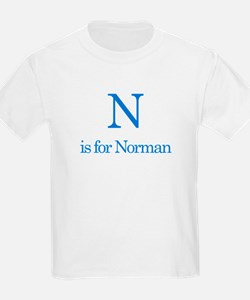 N is for Norman T-Shirt