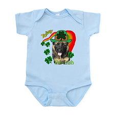 St Pats German Shepherd Infant Bodysuit