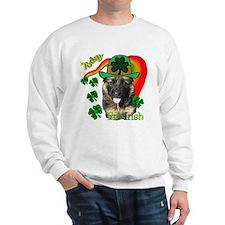 St Pats German Shepherd Sweatshirt