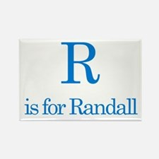 R is for Randall Rectangle Magnet