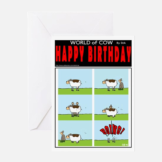 BOING! Greeting Card