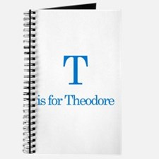T is for Theodore Journal