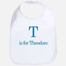 T is for Theodore Bib