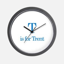 T is for Trent Wall Clock