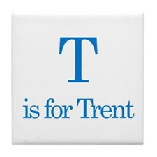T is for Trent Tile Coaster