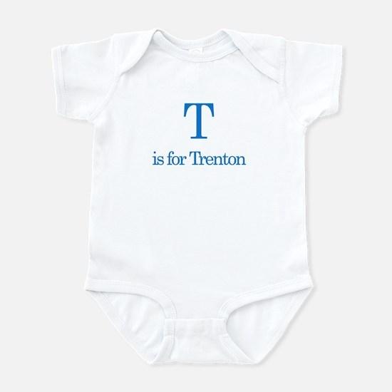 T is for Trenton Infant Bodysuit