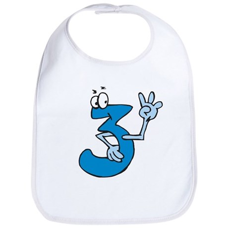 3rd Birthday Bib