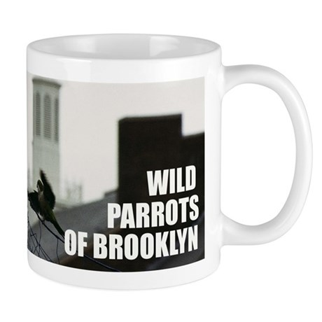 Wild Parrots of Brooklyn Mug: Big Bird on Campus