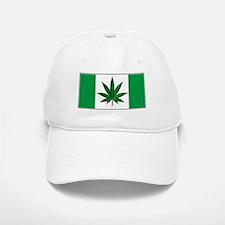 Marijuana Green Canadian Fla Baseball Baseball Cap