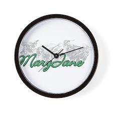 Smoking MaryJane Wall Clock