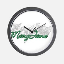 Smoking MaryJane Wall Clock