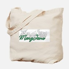 Smoking MaryJane Tote Bag