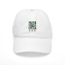 420 Marijuana Power Leaf Baseball Cap
