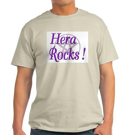 Hera Rocks ! Ash Grey T-Shirt