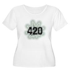 Marijuana Power Leaf 420 T-Shirt