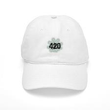 Marijuana Power Leaf 420 Baseball Cap