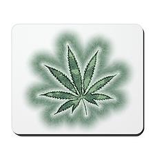 Marijuana Power Leaf Mousepad