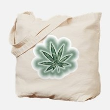 Marijuana Power Leaf Tote Bag