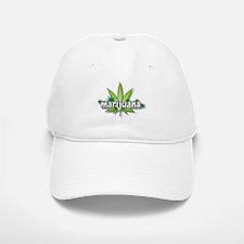 Marijuana leaves Baseball Baseball Cap