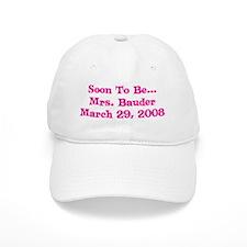 Soon To Be... Mrs. Bauder M Baseball Cap