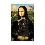 Mona - Affenpinscher3 Sticker (Rectangle)