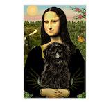 Mona - Affenpinscher3 Postcards (Package of 8)