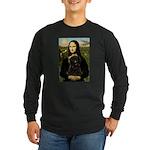Mona - Affenpinscher3 Long Sleeve Dark T-Shirt