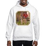 Afghan Hound Hooded Sweatshirt