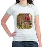 Afghan Hound Jr. Ringer T-Shirt