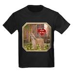 Afghan Hound Kids Dark T-Shirt