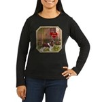 Cavalier King Women's Long Sleeve Dark T-Shirt