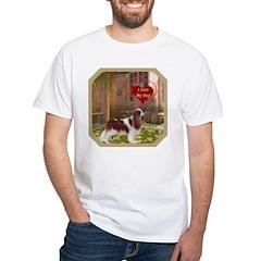 Cavalier King White T-Shirt