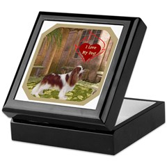 Cavalier King Keepsake Box