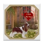 Cavalier King Tile Coaster