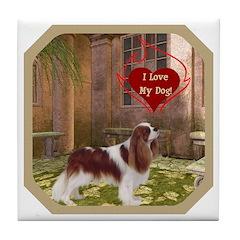 Cavalier King Tile Coaster