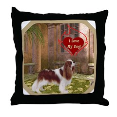 Cavalier King Throw Pillow