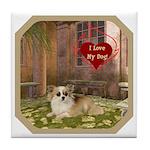 Chihuahua Tile Coaster