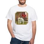Chow Chow White T-Shirt