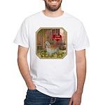 Cocker Spaniel White T-Shirt